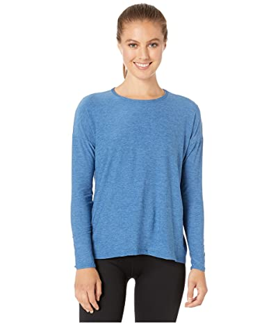 Beyond Yoga Draw The Line Tie Back Pullover (Victory Blue/Blue Suede) Women