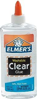 Elmer 's líquido Pegamento escolar, transparente, lavable, Transparente