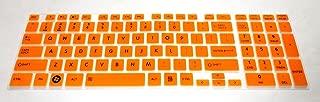 BingoBuy® Semi-Orange Backlit High Quality Silicone Keyboard Protector Skin Cover for Toshiba Satellite L850, L850D, L855, L855D, L875, L875D, L955, L955D, S855, S855D, S875, S875D, S955, S955D, S50-A, S50t-A, S50D-A, S50Dt-A, S55-A, S55T-A, S75-A, S75D-A, S75t-A, U50t-A, L55-A, L55T-A, L55DT-A, E55D-A, E55DT-A, E55t-A, S70-A, S70t-A, P70-A, L70-A, P875, P50-A, P55-A, P55T-A, Qosmio X875, X70-A(if your