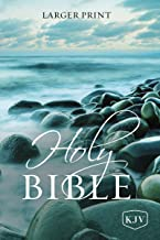 KJV, Holy Bible, Larger Print, Paperback, Comfort Print: Holy Bible, King James Version