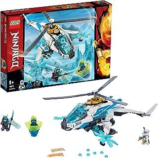 LEGO 70673 NINJAGO ShuriCopter Ninja Helicopter Toy with 3 Minifigures, Masters of Spinjitzu Playset