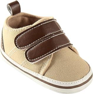 Luvable Friends Canvas Hook & Loop Boys Shoes (Infant)