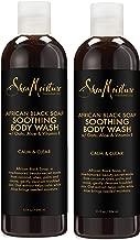 SheaMoisture African Black Soap Body Wash | 13 oz | Pack of 2