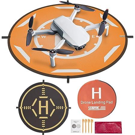 "Drone Landing Pad,STARTRC Universal Waterproof Portable Foldable Landing Pads for DJI FPV Drone/DJI Mini 2/Mavic Mini/Mavic 2 /Mavic Pro/Mavic Air 2 (20"")"