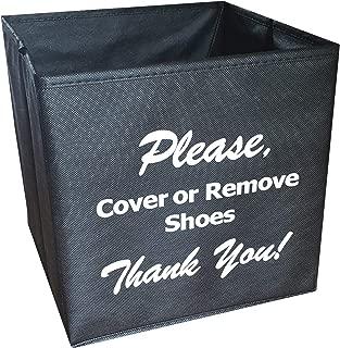 Disposable Shoe Cover Box for Realtors
