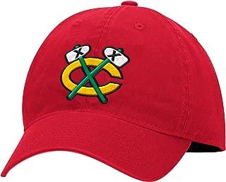 Chicago Blackhawks NHL Mitchell & Ness Cotton Adjustable Strapback Cap