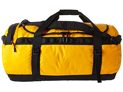 The North Face Base Camp Duffel Large (Summit Gold/TNF Black) Duffel Bags