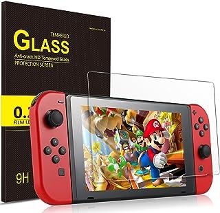 Luibor Protector de visualización para Nintendo Switch Mini 9H HD Vidrio Templado Protector de visualización - para Nintendo Switch Mini (1 Pieza)