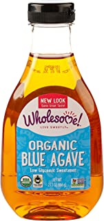 Wholesome Sweeteners Inc Organic Blue Agave 23 5 oz 666 g