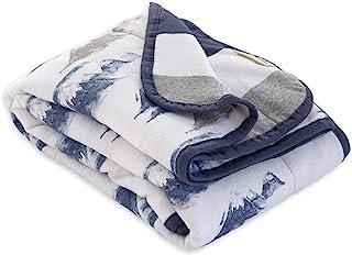Burt's Bees Baby - Reversible Blanket, Multipurpose Nursery & Tummy Time Organic Jersey Cotton Baby Blanket (On the Road),...