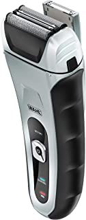 Wahl Speed Shave, Rechargeable Lithium Ion Wet/Dry Waterproof Facial Hair Shaver With Speedflex Precision Foils #7061-500