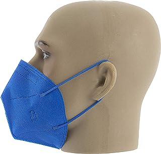 Respirador Pff2 Azul Sem Valvula Com 10 Unidades