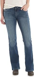 Retro Mae Mid Rise Stretch Boot Cut Jean