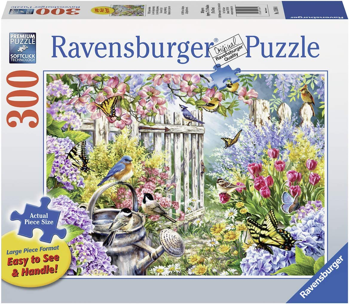 Ravensburger Spring Awakening 13584 300 Piece Large Pieces Jigsaw Puzzle for Adults, Every Piece is Unique, Softclick Technology Means Pieces Fit Together Perfectly, Multi, 27