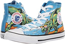 Chuck Taylor All Star Dino's Beach Party - Hi (Little Kid/Big Kid)