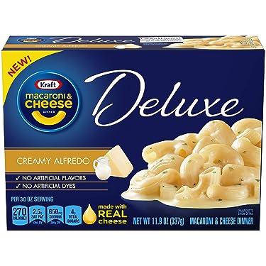 Kraft Deluxe Creamy Alfredo Macaroni and Cheese Meal (12 oz Box)