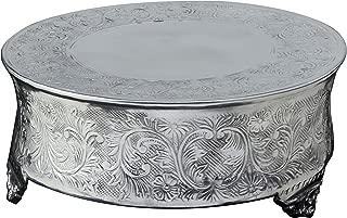 SIMPLY ELEGANT Aluminum Round Cake Stand - 14