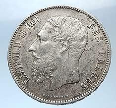 1873 belgium 5 francs