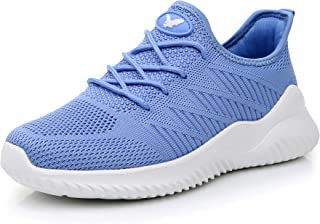 Impdoo Women's Memory Foam Slip On Walking Sneakers Comfortable Sports Athletic Tennis Running Shoes (US5.5-10 B(M)