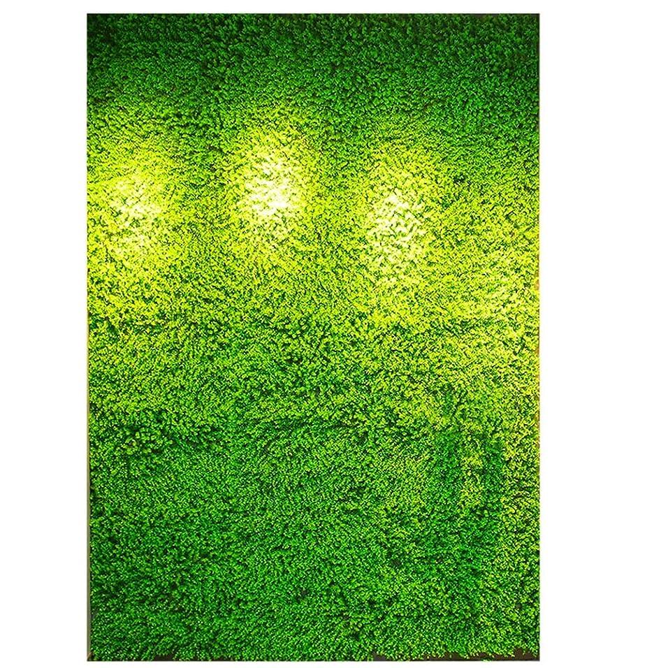 人工的なステーキ異議DGLIYJ 人工的な ? 緑の植物 パネル 人工ヘッジ フェンス プライバシー画面 ? 芝生 屋内屋外 壁の床の装飾- 100x100cm 結婚式のレイアウト、 (Color : A, Size : 100x100cm)