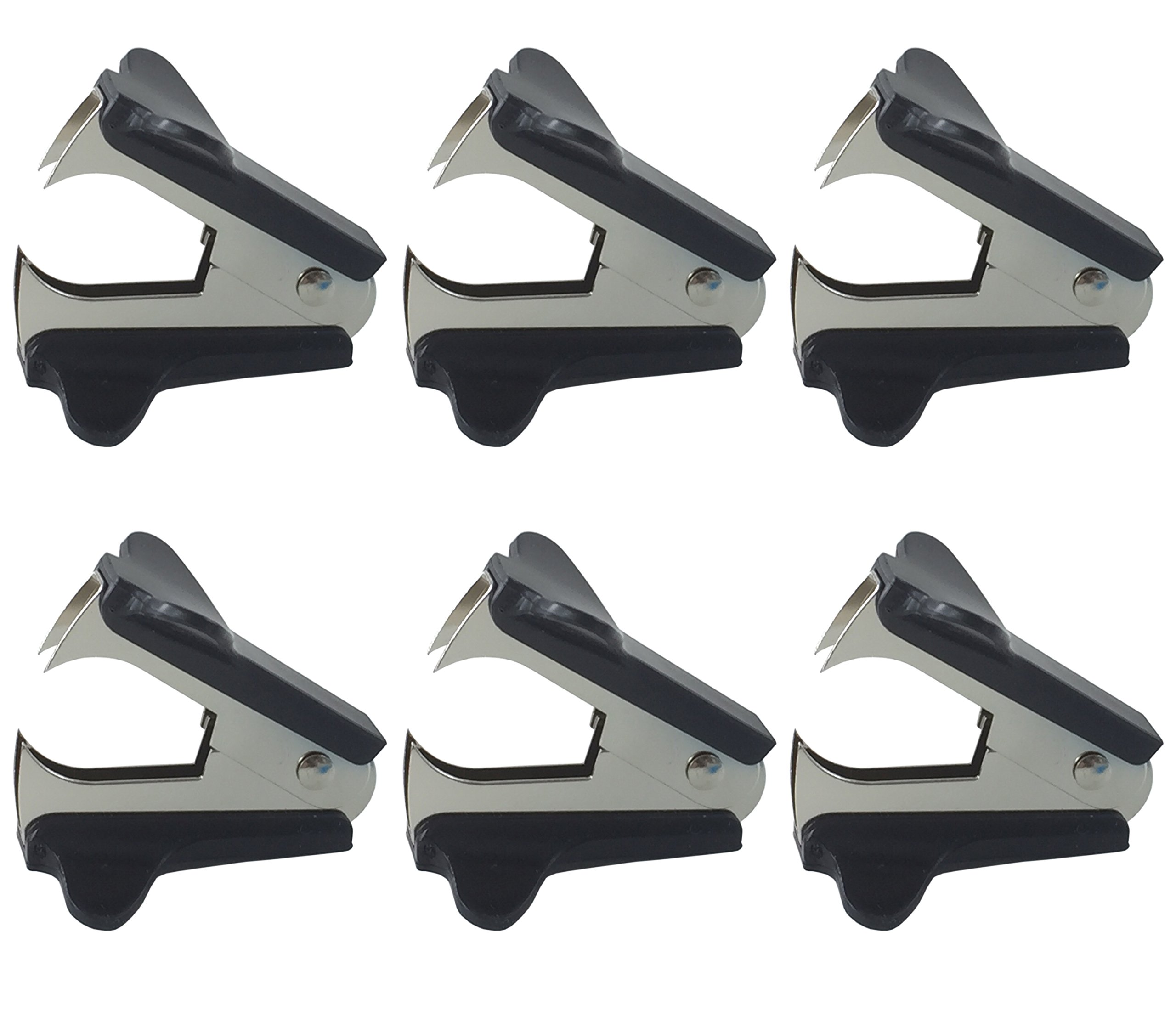 Clipco Staple Remover 6 Pack Black
