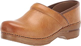 Women's Professional Honey Distressed Clog 7.5-8 M US
