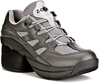 Women's Freedom Slip Resistant Enclosed Coil Leather Tennis Shoe