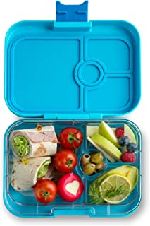 YUMBOX Panino Leakproof Bento Lunch Box Container for Kids & Adults (Blue Fish)