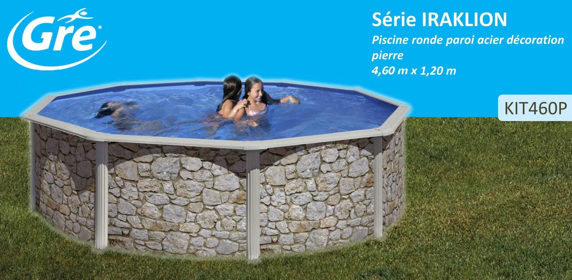 San Marina Pools - Piscina De Chapa Iraklion 460 X 120 Cm + ...