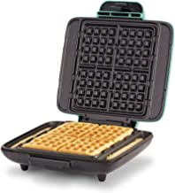 Dash DNMWM400AQ Waffle Maker Machine Chaffles, Paninis, Hash browns, or any Breakfast, Lunch & Snacks with Easy Clean, Non...