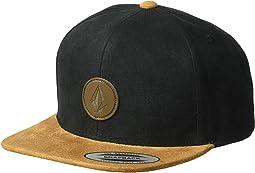 Quarter Fabric Panel Hat