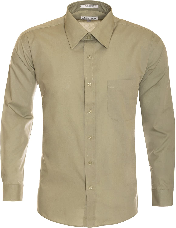 Men's Classic Business Casual Wedding Uniform Dress Shirt