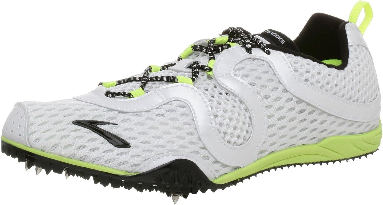 Brooks Herren Herren Z2 Distance Spikeschuh - 40017-101 - Weiß  100% authentisch