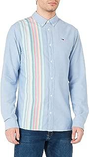 Tommy Hilfiger Erkek Günlük Gömlek Tjm Engineered Stripe Shirt