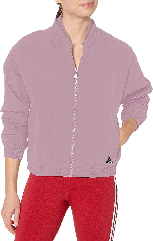 adidas Women's shipfree Jacksonville Mall Woven Bomber Jacket