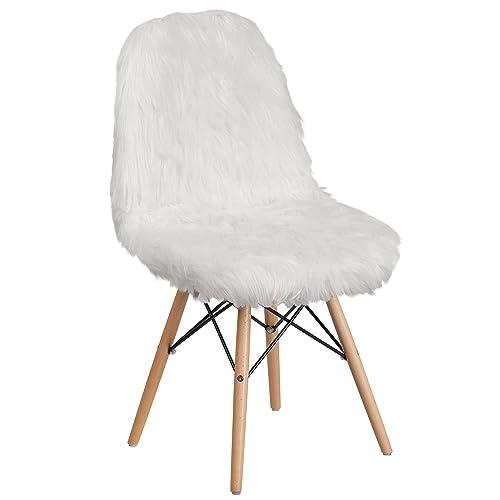 Faux Fur Chair Amazon Com