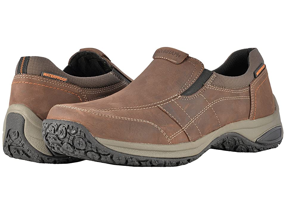 Dunham Litchfield Slip-On Waterproof (Brown) Men