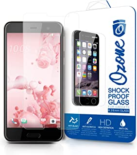 Ozone HTC U Play Shock Proof Tempered Glass Screen Protector
