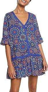 Desigual Top_Java Swimwear Cover Up para Mujer