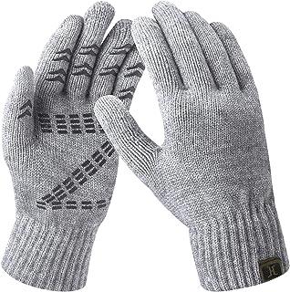 دستکش زمستانی مردانه دستکش صفحه لمسی گره ای و پشمی نرم