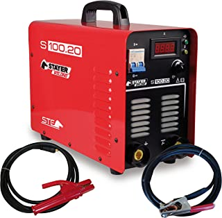 STAYER 1.482 - INVERTER MMA Soldadura por Electrodo 100% 200A 6mm 14kg KVA6 S 100.20