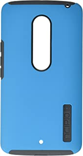 Motorola Droid MAXX 2 / Moto X Play Case, Incipit [Hard Shell] [Dual Layer] Case for Motorola Droid MAXX 2 / Moto X Play-Cyan/Gray