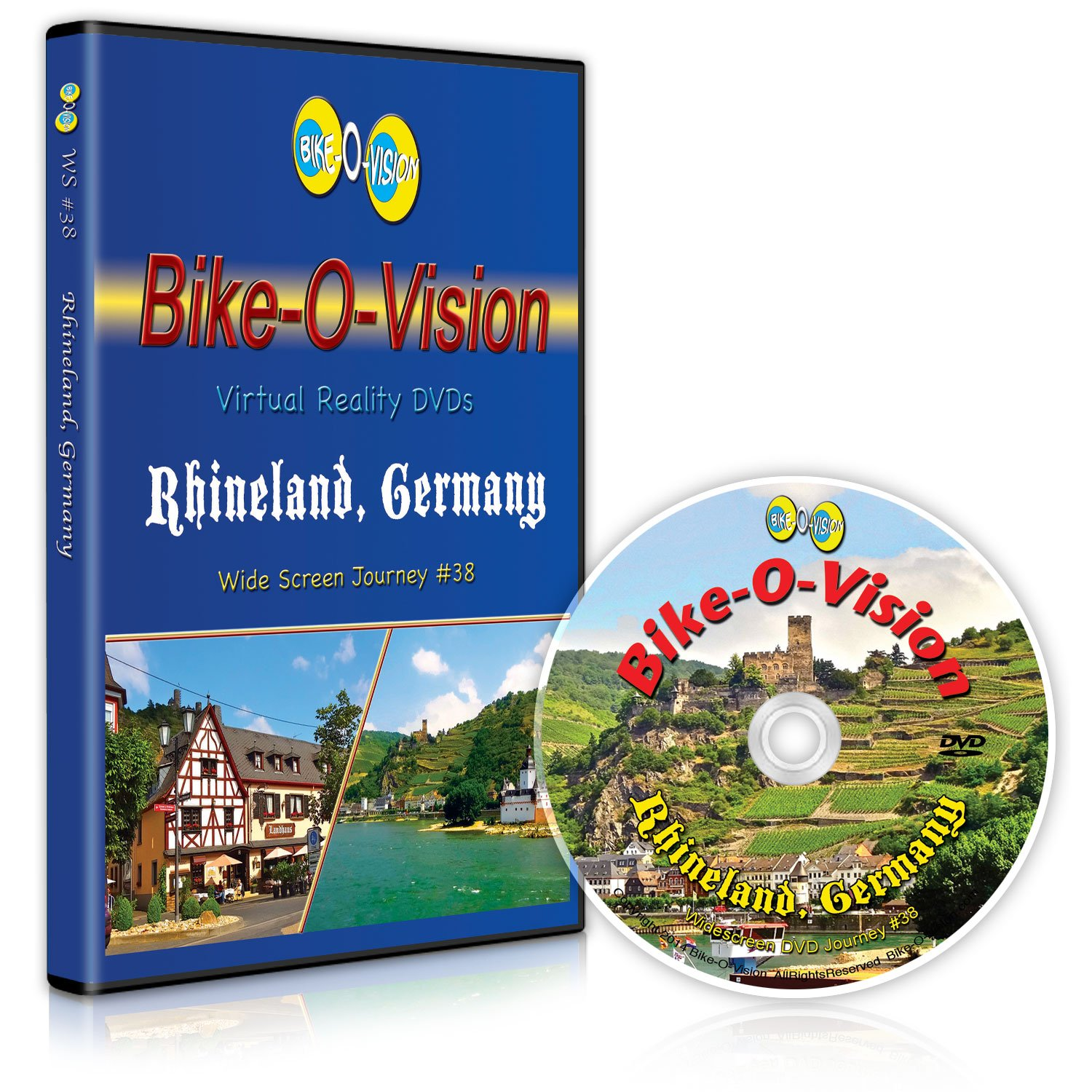 Bike-O-Vision Cycling Video: Rhineland Max 84% OFF BR Germany Limited time trial price - #38