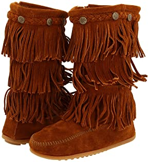 Minnetonka Kids, Boots, Girls | Shipped Free at Zappos