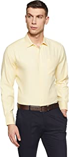 Amazon Brand - Symbol Men's Solid Formal Shirt