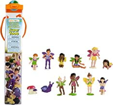 Safari Ltd. Super TOOBs - Friendly Fairies - Quality Construction from Phthalate, Lead and BPA Free Materials - for Ages 3 and Up