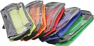 Módulo juego de bolsas nylon en 5 coloures para mochila de emergencia y bolsa de