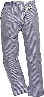 Portwest C075CHRXXXL Pantaloni da Chef Barnet a Scacchi 3XL Blu//Bianco
