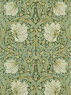 William Morris Pimpernel Arts Craft Pattern Design Large Wall Art Poster Print Thick Paper 18X24 Inch