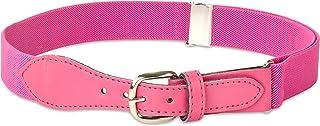 Kids Elastic Adjustable Strech Belt with Leather Closure...
